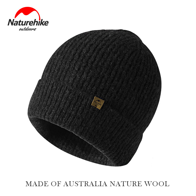 Naturehike Winter Knitted Wool Hat Outdoor Thick Caps Hot Hats Climbing cap NH17M010-Z ymsaid latest hot selling multi functional knit cap balaclava mask winter wool hats adult men and women neck warmer thick it tak
