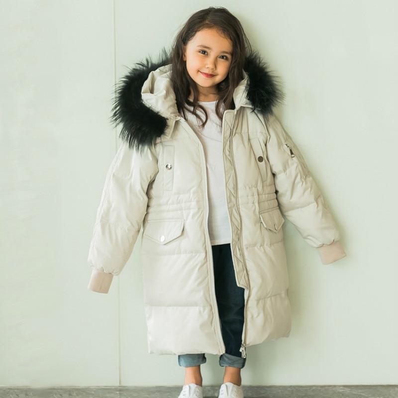 2018 Girls Winter Coat Children Jackets Kids Winter Outerwear Girls Winter Jacket Down Coat Girls Down Parkas Jackets xyf8831 girls kids autumn winter down jackets 80