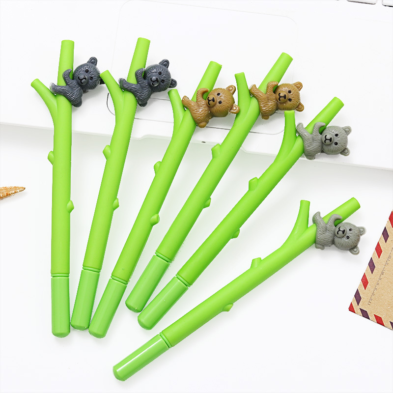 1Pcs Gel Pen Cute Pen Quality Stationary Kawaii School Supplies Gel Ink Pen School Stationary Office Suppliers Pen Gift