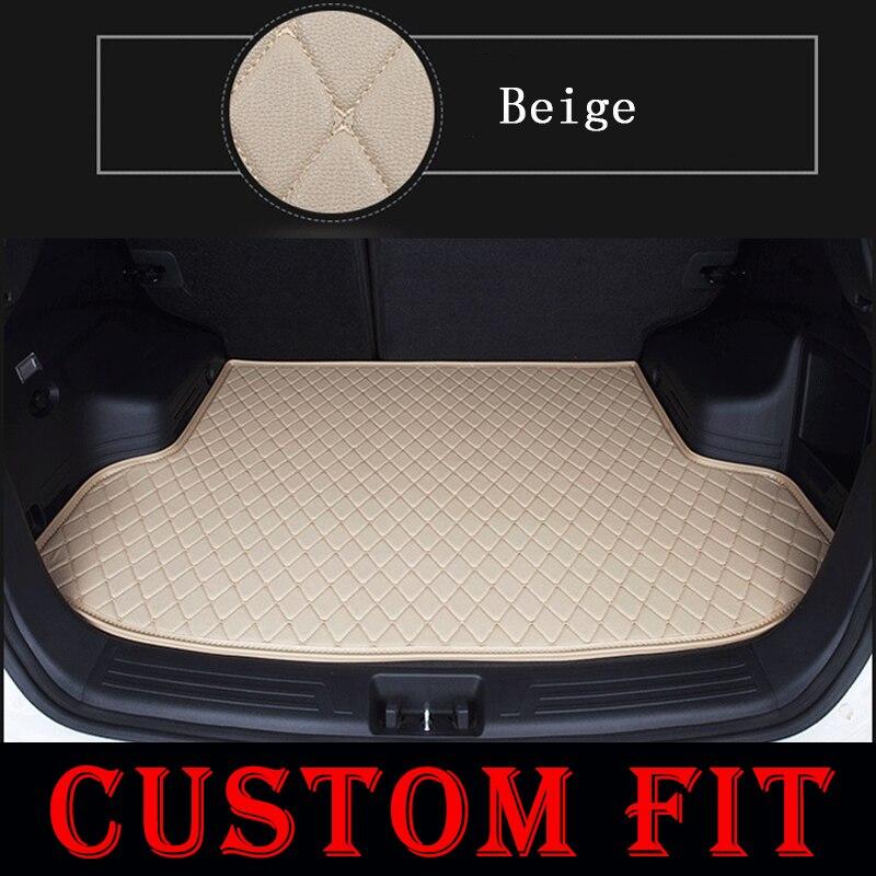 Custom fit car trunk mats for Jeep Cherokee Compass Patriot Grand Cherokee 2008 2015 2016 2017 car floor rear cargo liner mats-in Floor Mats from Automobiles & Motorcycles    3