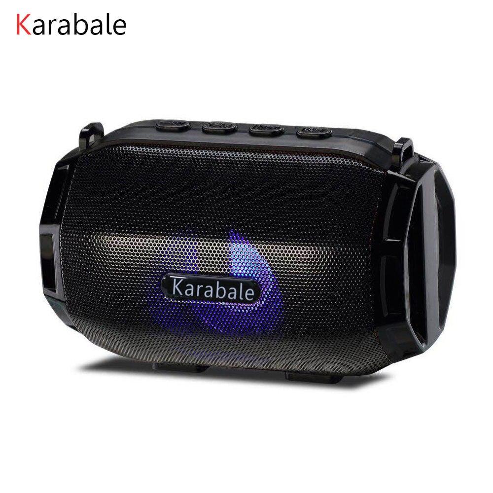 Mini Speaker Led-Color-Light Fm-Radio Desktop Super-Bass Portable Wireless Newest Bluetooth