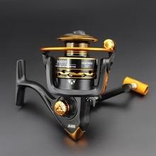 High quality Cheap price JK2000-6000 12BB 5.2:1 Spinning Fishing Reel Carp Fishing Sea Fishing Pesca Fishing Tackle