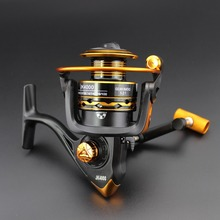 High quality Cheap price JK2000-6000 12BB 5.2:1 Spinning Fishing Reel Carp Fishing Sea Fishing Pesca Fishing Tackle