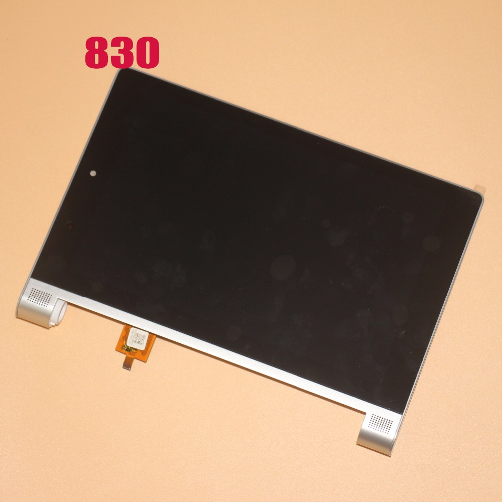 цена на kodaraeeo For Lenovo Yoga Tablet 2 830 851 851F Touch Screen Digitizer Sensor Glass With LCD Display Assembly Replacement