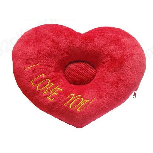 Retail and Wholesale-- Christmas'day gift 2011 Music Pillow Good Sleeping ,I LOVE YOU   nap music pillow