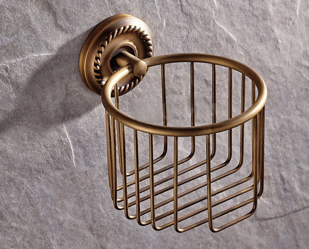 Vintage Retro Antique Brass Bathroom Wall Mounted Toilet Paper Roll Holders Cba274 12vdc motor driven air raid siren metal horn for industry boat alarm ms 390