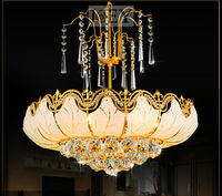 Traditional Crystal Chandeliers Lighting Gold Palace Light Luxury Hotel Lamp For Bedroom Guaranteed 100 Free Shipping