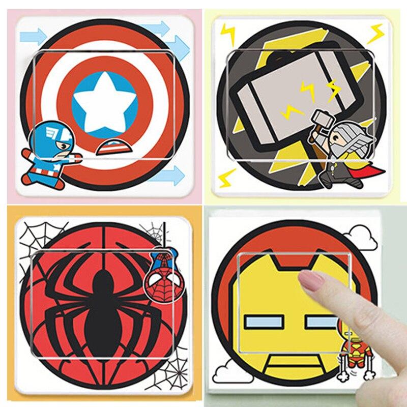 Spiderman Wall Art popular spiderman wall art stickers-buy cheap spiderman wall art