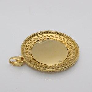 Image 5 - zkd AYATUL KURSI crystal Pendant necklace  islam muslim Arabic God Messager Gift  jewelry