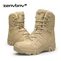 Winter/Herbst Männer Military Boots Spezialeinheiten Taktische Wüste Stiefel Kampf Boote Outdoor Schuhe Knöchel-schneeaufladungen