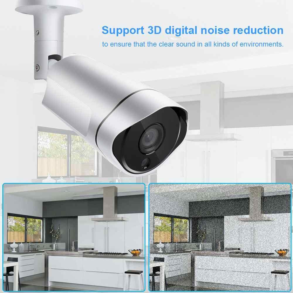 75 градусов угол обзора AHD 4.0MP аналоговый CCTV Открытый/Крытый IP66 Водонепроницаемая камера наблюдения для домашней безопасности