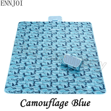 ENNJOI NEW Diverse Styles Outdoor Waterproof Oxford Cloth PVC Moisture-proof Pad Picnic Mat Thickening Type Camping Tent Pad