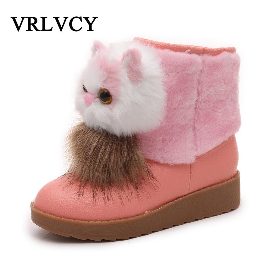 0cc9880bf Coreano Invierno Nieve Cortas 2018 Botas Más Lindo De Algodón Plana brown  Grueso Salvaje Estudiante pink Mujeres Nuevo Caliente Zapatos ...