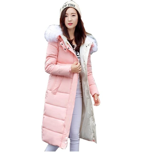 Special Price KUYOMENS Winter Jacket Women 2017 Winter And Autumn Wear High Quality Parkas Winter Jackets Outwear Women Long Coats