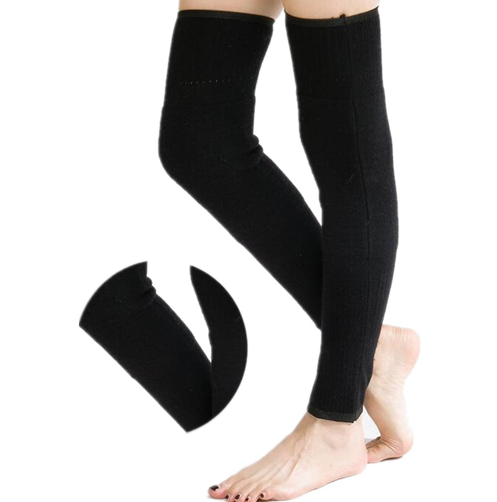 Body Wrappers Women's Knee High Knit 54 Extra-Long Trim Leg Warmers