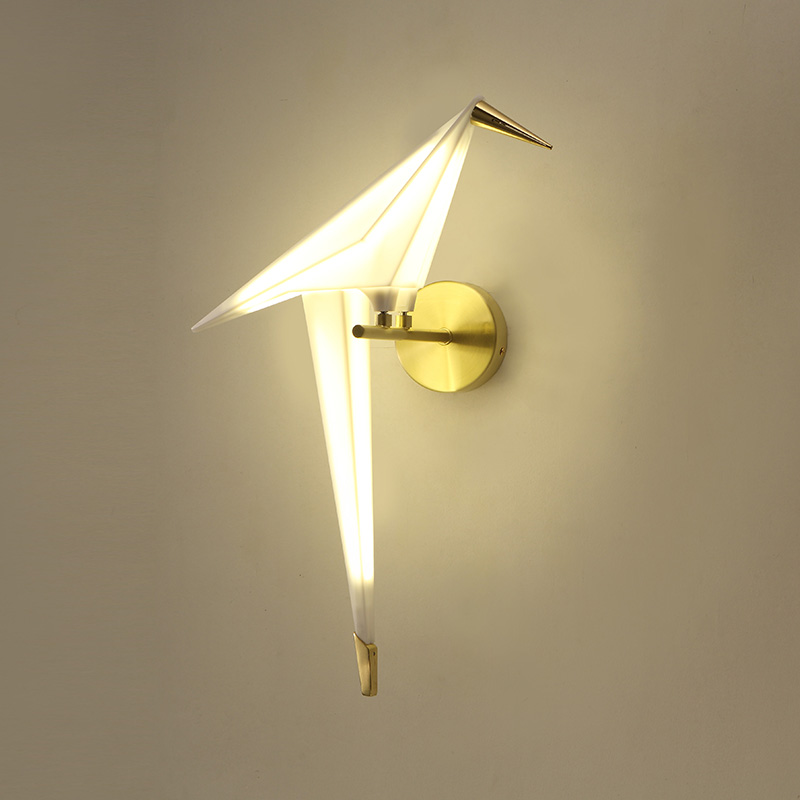 Modern Wall Lamps Nordic LED Bird Wall Lights Fixture Home Indoor Lighting  Nordic Restaurant Dining Room