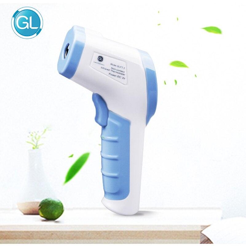 Gl novo adulto bebê termômetro pequeno leve lcd digital termometro digital sem contato medição de temperatura termômetro