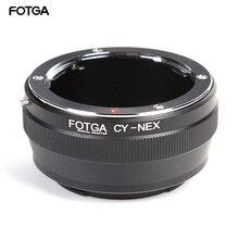 FOTGA Adapter Ring Cho Contax Yashica CY Ống Kính Sony E Mount NEX 3 5C 5N 5R Máy Ảnh