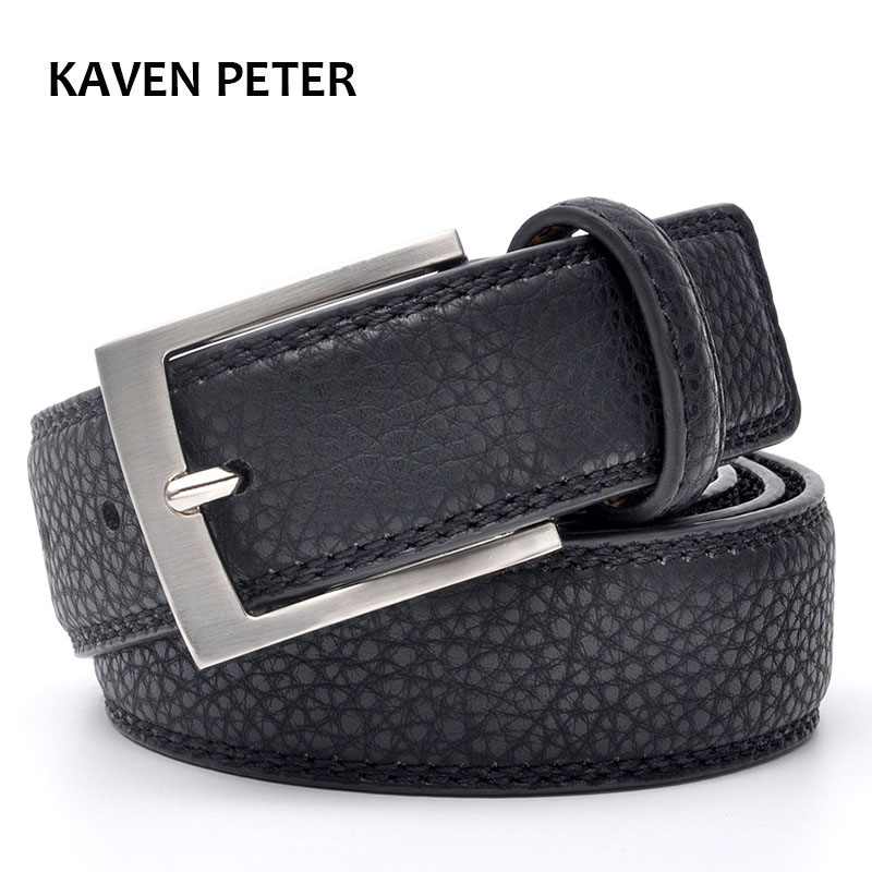 Fashion Accessories Belt Hot Fashion Cowhide Leather Men Belt 120 cm Tuxexo Cummerbund Casual Dress With Belt  Three Color