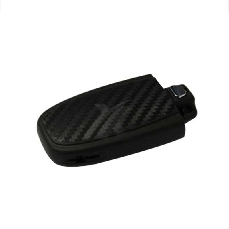 DIY الكربون الألياف سيارة مفتاح ملصق الديكور لأودي A4 A6 RS4 A5 A7 A8 S5 RS5