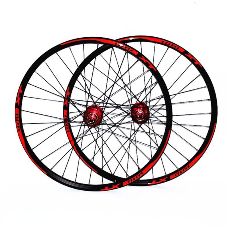 2018 venda quente l01 MTB mountain bike rodas de bicicleta 4 selado rolamentos de roda jantes rodado duplo rim