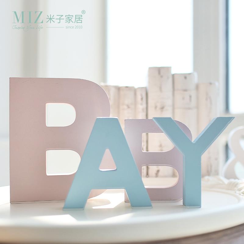 miz creativas letras frases de palabras decoracin del hogar del arte colorido escritorio accesorio colgante