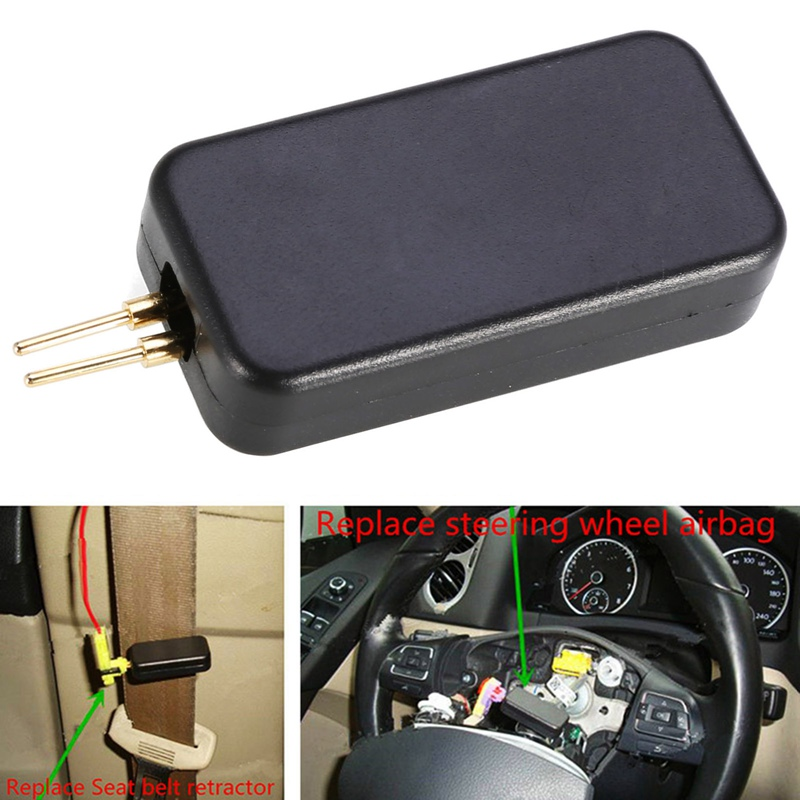 1PCS Airbag Simulator Emulator Diagnostic Tool Car Air Bag SRS System Repair Tools Universal for Auto Car SUV Truck