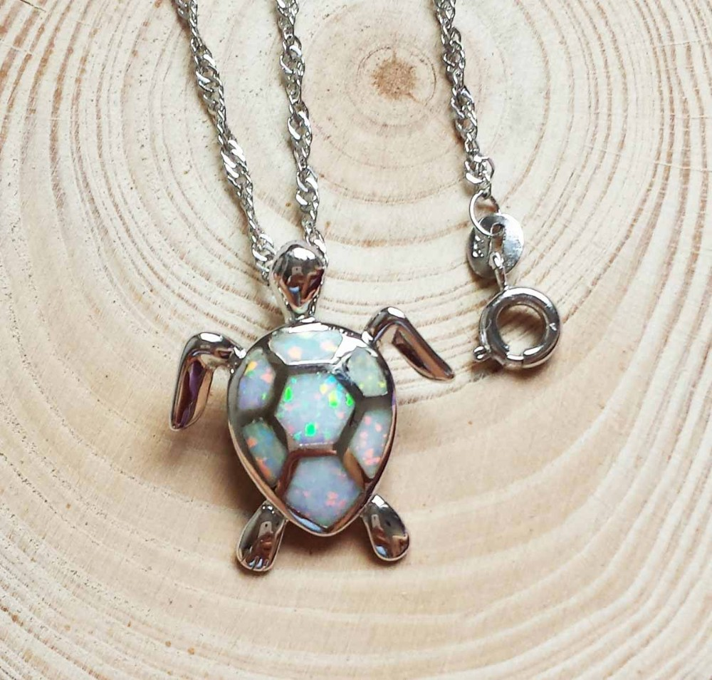 sea-turtle-white-fire-opal-pendant 3 - Copy