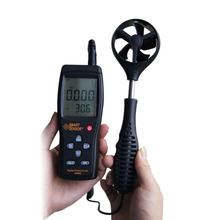 Смарт-датчика AS856 0.3 — 45 м/с анемометр рук — состоится анемометр-термометр воздуха