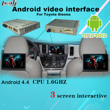 Multimedia Video Interface Android Navigation , Headrest Dispaly , Mobile Phone Mirrorlink