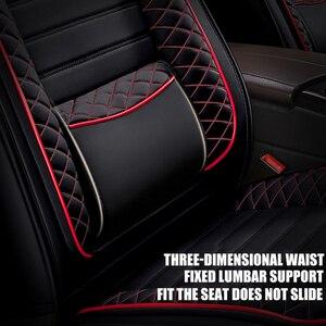 Image 2 - Kadulee Lederen Auto Seat Cover Voor Mitsubishi Pajero 4 2 Sport Outlander Xl Asx Accessoires Lancer Covers Voor Voertuig Zetels auto