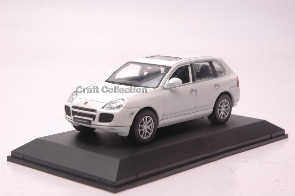 ФОТО Car Model for White 1:43 Porsche Cayenne S Luxury SUV Alloy Model Diecast Show Car Replica Metal Miniature Auto Modell