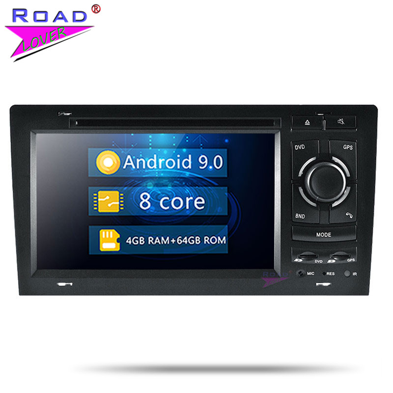 Roadlover Android 9.0 Car Multimedia DVD Video Per Audi A8 S8 1994 1995 1996 1997-2003 Stereo Automagnitola Due din Lettore Radio