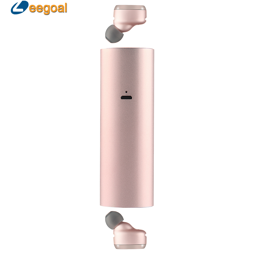 TWS Bluetooth Earphone Twins Mini Bluetooth Headset Dual Wireless Earphones Headset with mic True Wireless Bluetooth Earbuds x1t x2t twins true wireless tws mini headset bluetooth earphone csr4 2 headphone with magnetic charging dock for ios android