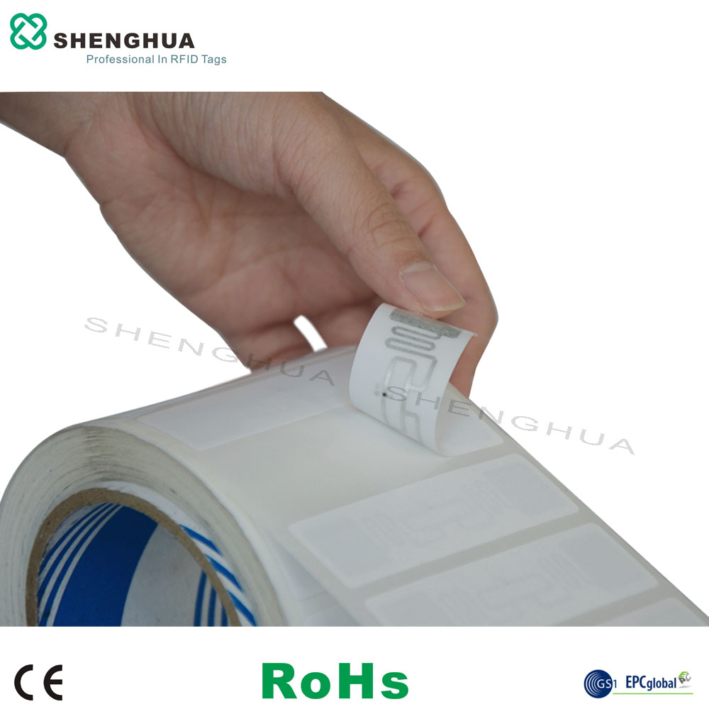 10pcs/pack Iso18000-6c UHF RFID Solution ALN9662 Tag Rfid Inlay Paper Label Anti-theft For Library Stock Warehouse Management