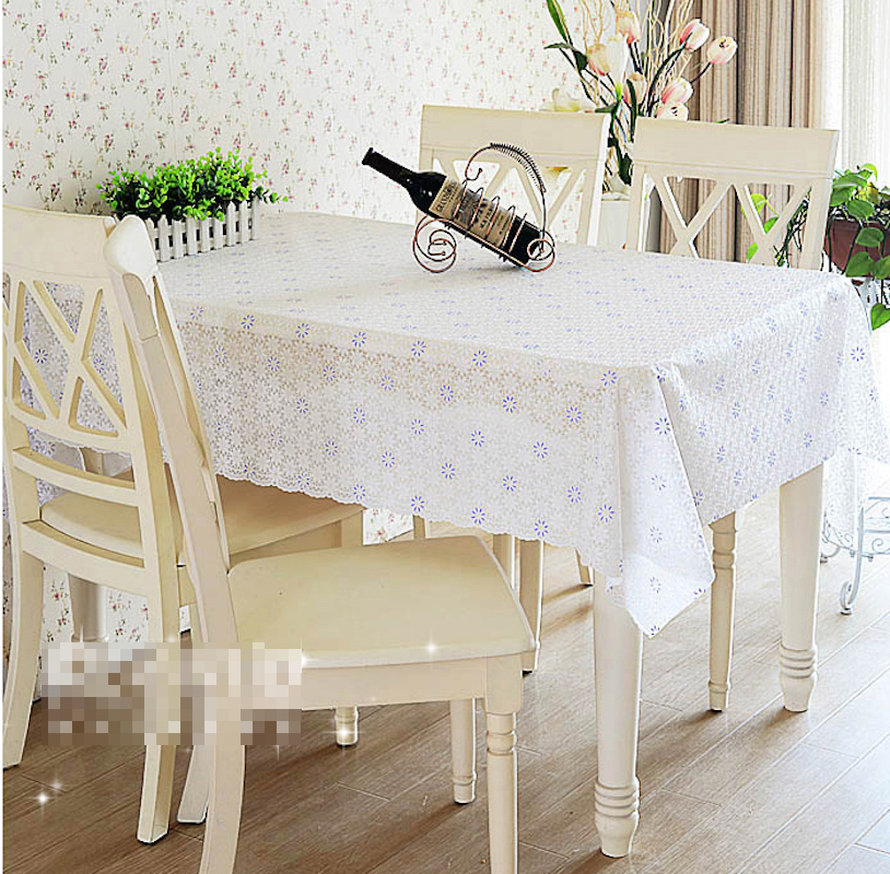 Quality PVC Tablecloth Dining Table Plastic Cover Coffee End Table Cloth  Round Square Rectangular Waterproof Mat ...