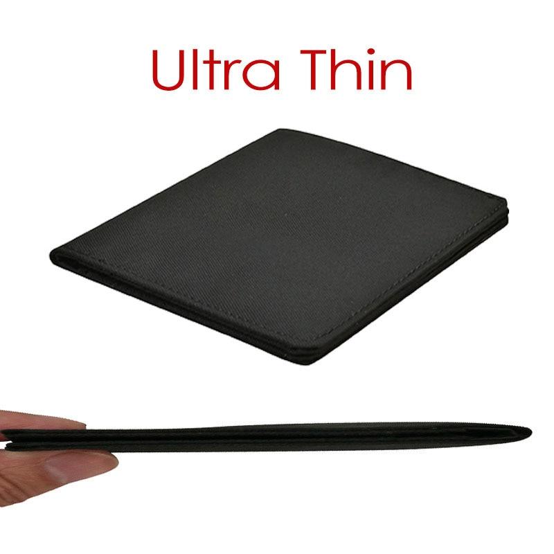 2020 Minimalist Slim Nylon Wallet For Men Women Slimline Ultra Thin Mini Small Male Female Zipper Coin Purse Compact Money Bag
