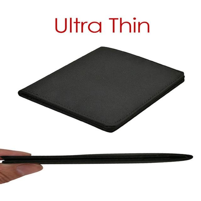 2021 Minimalist Slim Nylon Wallet For Men Women Slimline Ultra Thin Mini Small Male Female Zipper Coin Purse Compact Money Bag