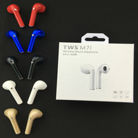 I7S TWS Music Mini Wireless Bluetooth Earphone 360 Degree Roration Sport Bluetooth Headset Earbud With MIC