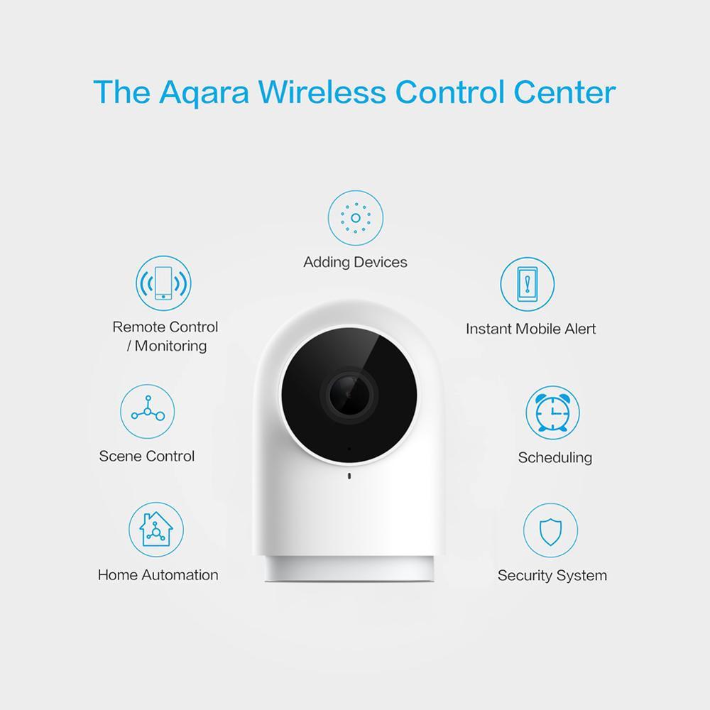 Original Xiaomi Aqara Smart Camera 1080P G2H Gateway Zigbee Linkage IP Wifi Webcam Cloud Security Smart Devices pk Dafang Camera