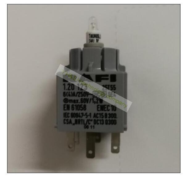 [VK] RAFI lumière LED interrupteur de remplacement de lampe 24 V 2x4. 6d blanc rouge vert lampe RAFI 1.190.690.365/0000 - 2