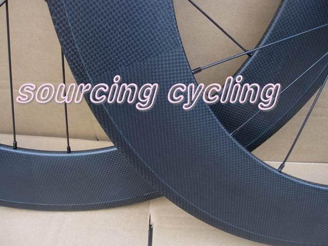 88mm carbon track wheels,3K matte light carbon fiber tubular wheels(20/24 holes in stock)