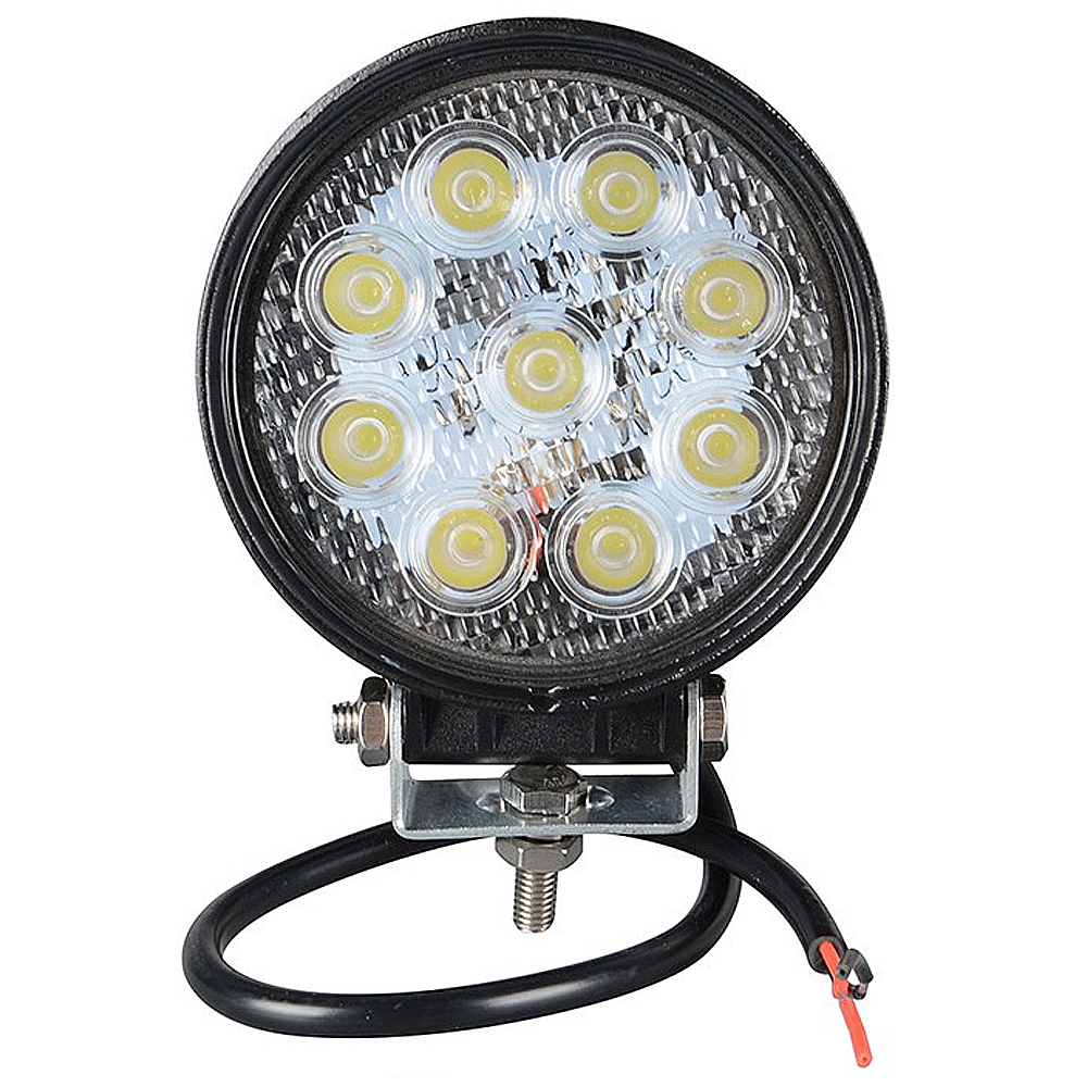 4 Inch 27W 12V 24V LED Work Light Spot/Flood Round LED Offroad Light Lamp Worklight for Off road Motorcycle Car Truck Hot New 4 21w round off road car led work light spot beam car driving fog lamp truck with free shipping