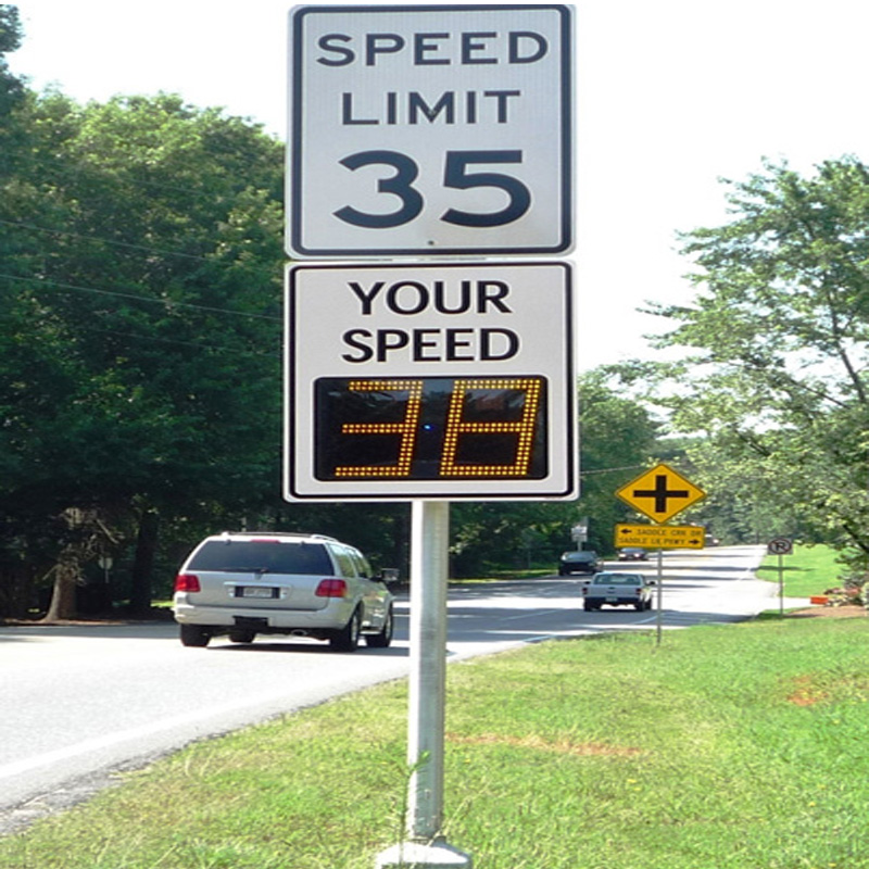 Neighborhood Speed Limit Signs roadway safety stop signs