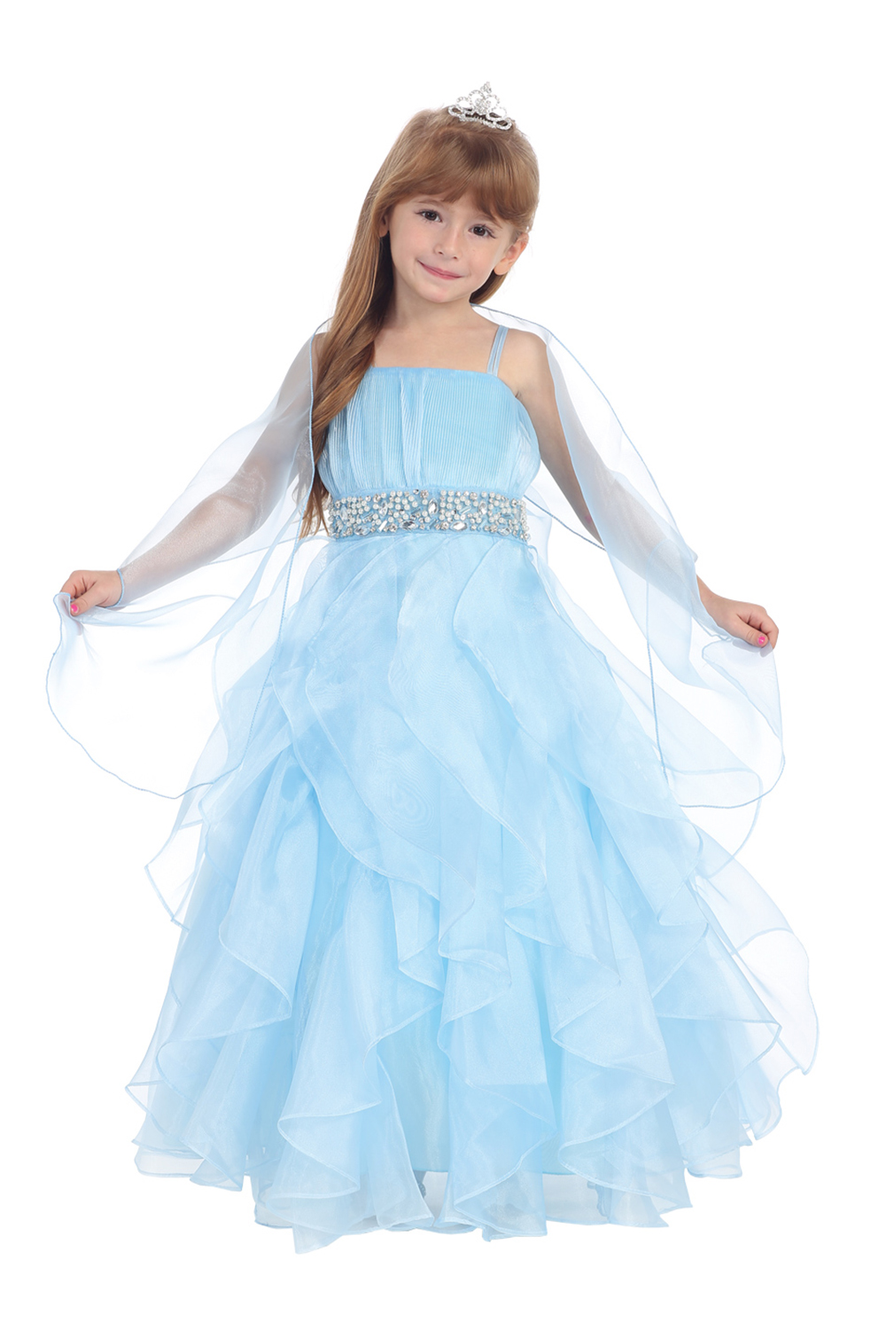 Compare Prices on Blue Flower Girl Dresses- Online Shopping/Buy ...