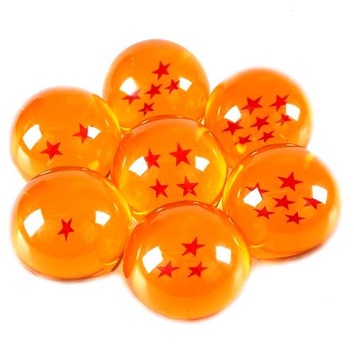 Shenron 7pc Crystal Dragonballs from Dragon ball Z