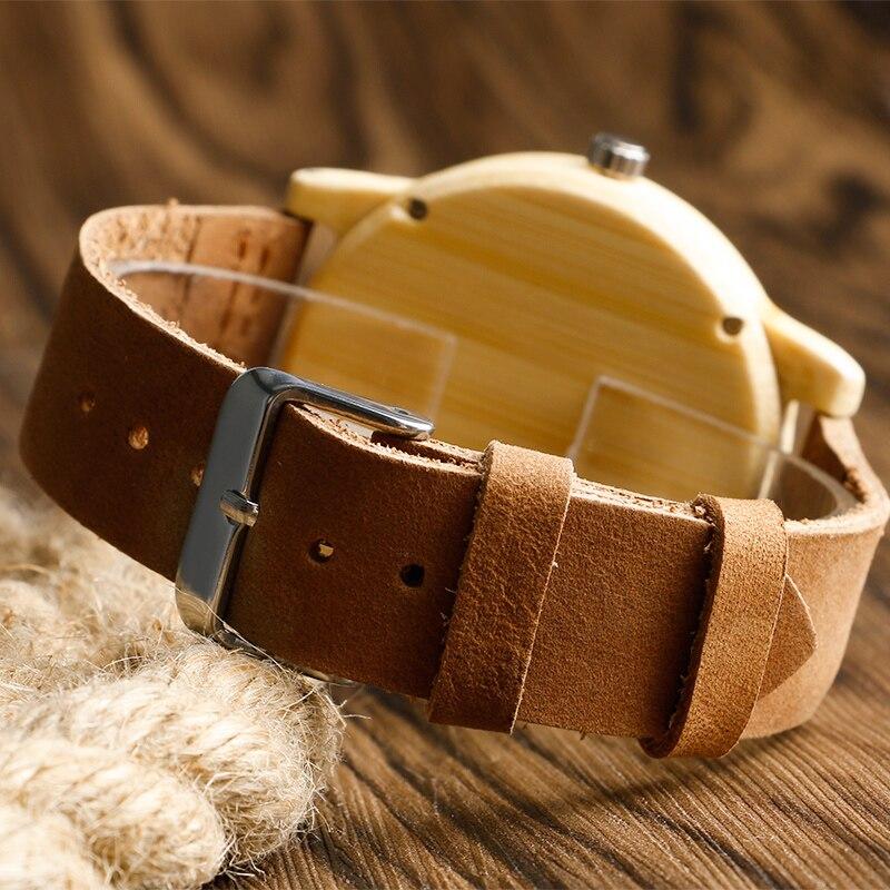 Fashion Light käsitsi valmistatud puidust kellad, mis on valmistatud - Meeste käekellad - Foto 4