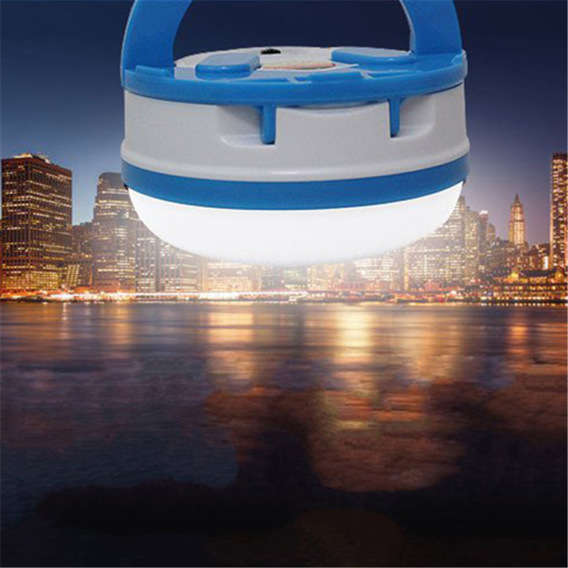 Luminaria Portable LED Super Bright Solar Camping Tent Outdoor Lantern Lights Emergency  ...