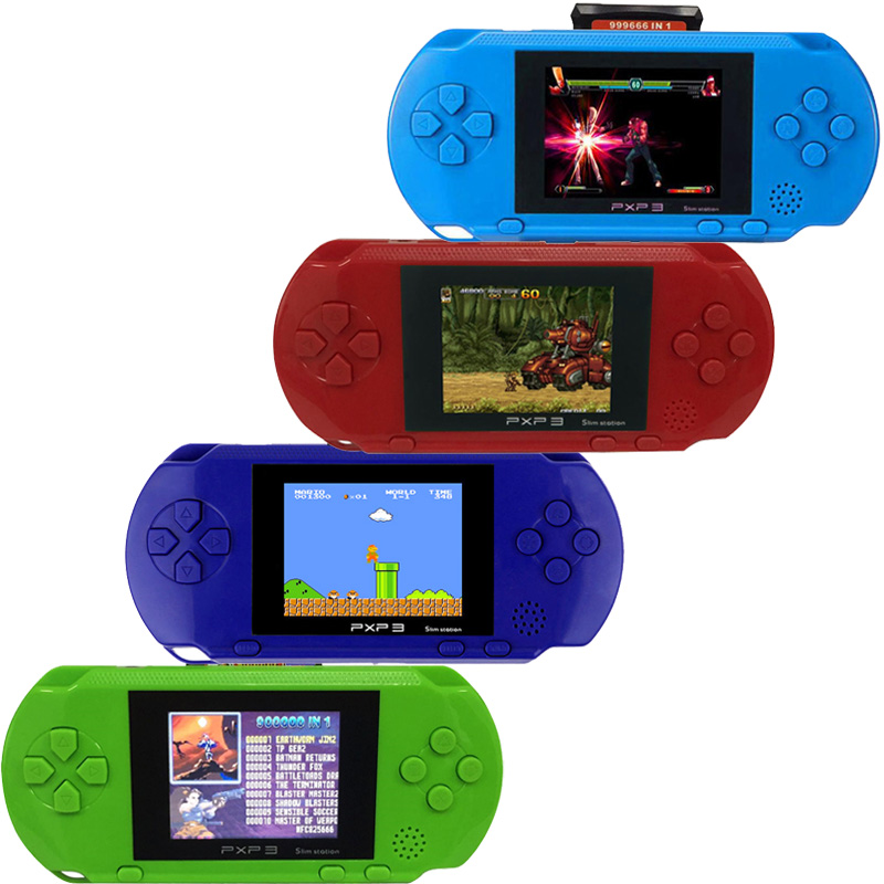 3 Inch 16 Bit PXP3 Slim Station Video Games Player Handheld Game +Free Game Card Console built-in 150 Classic Games nintendo gbc game video card pokemons classic collect classic colorful edition