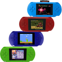 3 Inch 16 Bit PXP3 Slim Station Video Games Player Handheld Game Free Game Card Console